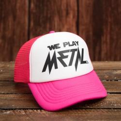 Wpm Trucker Cap Pink